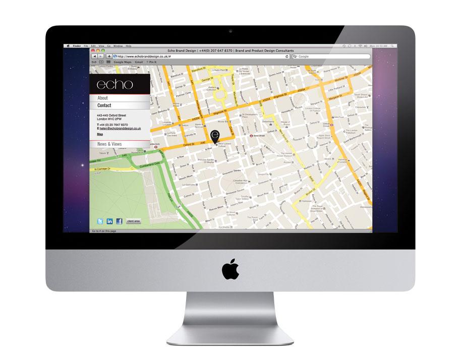Echo Brand Design Website