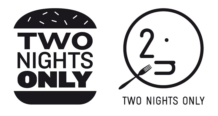 2 Nights Only - Logo design