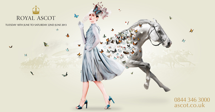 Royal Ascot pitch concept by Limited Edition Design