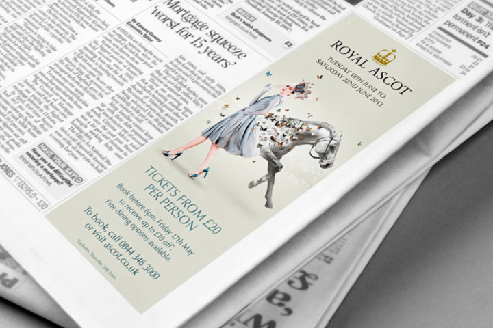 Royal Ascot Concepts - Press Advert