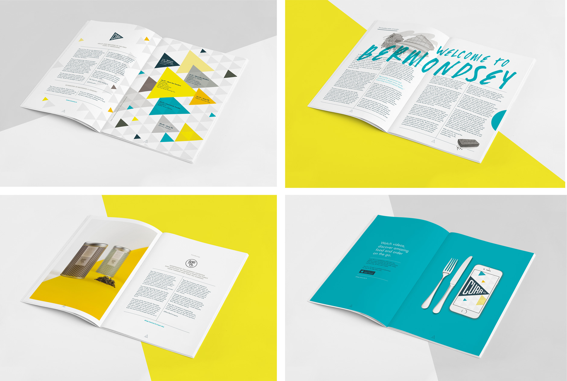 Cura newspaper by LimitedEditionDesign
