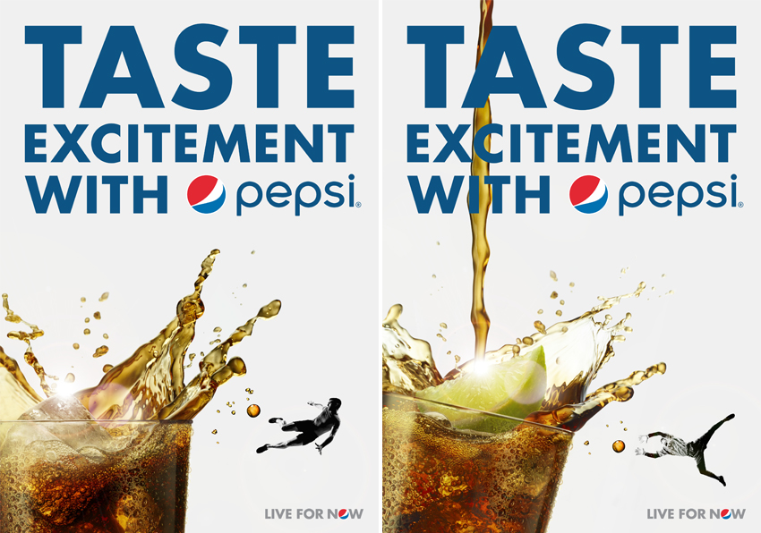 limited edition design pepsi advertising by limited